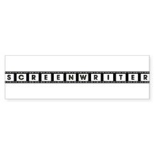 Screenwriter Bumper Sticker (10 pk)