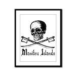 Manitou Island Pirate Framed Panel Print
