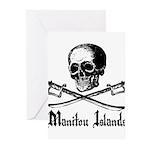 Manitou Island Pirate Greeting Cards (Pk of 10)