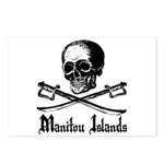 Manitou Island Pirate Postcards (Package of 8)