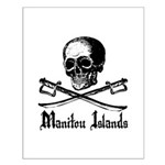 Manitou Island Pirate Small Poster