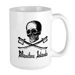 Manitou Island Pirate Large Mug