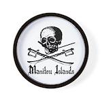 Manitou Island Pirate Wall Clock
