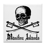 Manitou Island Pirate Tile Coaster