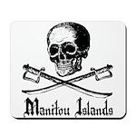 Manitou Island Pirate Mousepad