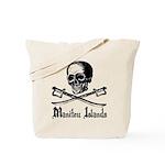 Manitou Island Pirate Tote Bag