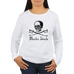 Manitou Island Pirate Women's Long Sleeve T-Shirt