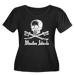 Manitou Island Pirate Women's Plus Size Scoop Neck