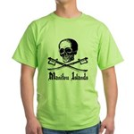Manitou Island Pirate Green T-Shirt