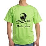 Manitou Island Pirate Green T-Shirt