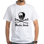 Manitou Island Pirate White T-Shirt