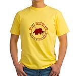 Not Switzerland Yellow T-Shirt