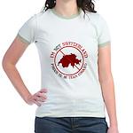 Not Switzerland Jr. Ringer T-Shirt