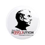 """Ron Paul Revolution 3.5"""" Button (100 pack)"""