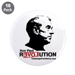 "Ron Paul Revolution 3.5"" Button (10 pack)"