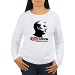 Ron Paul Revolution Women's Long Sleeve T-Shirt