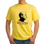 Ron Paul Revolution Yellow T-Shirt
