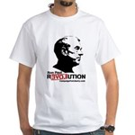 Ron Paul Revolution White T-Shirt