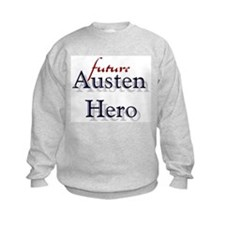 Bennetgirls Jane Austen Hero Sweatshirt