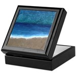Beach Painting Keepsake Box