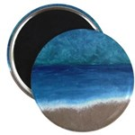 Beach Painting Magnet