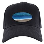 Beach Painting Black Cap