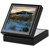 Baldy Sunrise Keepsake Box