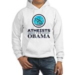 Atheists for OBAMA Hooded Sweatshirt