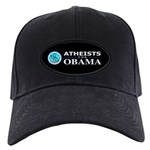 Atheists for OBAMA Black Cap