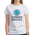 Atheists for OBAMA Women's T-Shirt