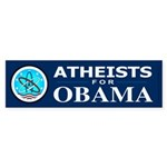 Atheists for OBAMA Bumper Sticker