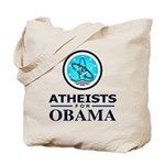 Atheists for OBAMA Tote Bag