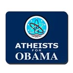Atheists for OBAMA Mousepad