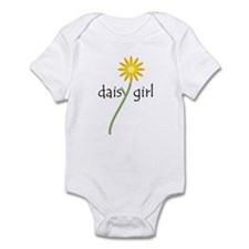 Yellow Daisy Girl Infant Bodysuit