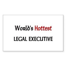 World's Hottest Legal Executive Decal