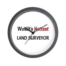 World's Hottest Land Surveyor Wall Clock