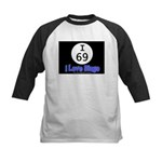I 69 I Love Bingo Kids Baseball Jersey