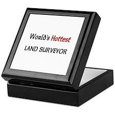 World's Hottest Land Surveyor Keepsake Box
