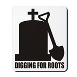 Digging For Roots Mousepad