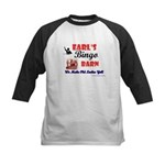 Earls Bingo Barn Kids Baseball Jersey