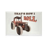 Farm Tractor Rectangle Magnet (10 pack)
