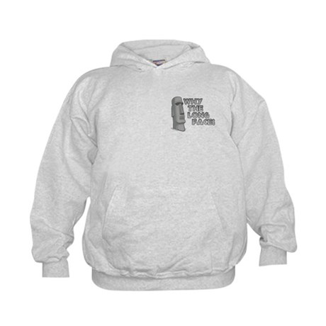 Why the Long Face? Kids Hoodie