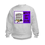 Who's Got The Pot Kids Sweatshirt