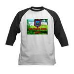 The Trailer Park King Kids Baseball Jersey