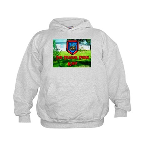 The Trailer Park King Kids Hoodie
