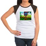 The Trailer Park King Women's Cap Sleeve T-Shirt