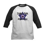 Trailer Park Princess Kids Baseball Jersey