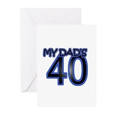 Dad's Forty Greeting Cards (Pk of 10)