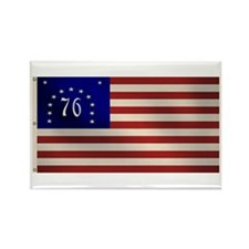 Bennington 1776 Flag Rectangle Magnet (100 pack)