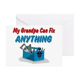 Fix Anything Grandpa Greeting Cards (Pk of 10)